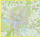Hamburg City Map XXL 200 x 190cm