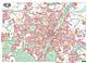 Munich City Map XXL 165 x 120cm