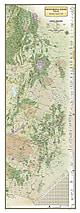 Continental Divide Trail Karte 46 x 122cm