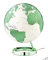 Design Globe in green