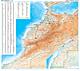 Marokko Landkarte 99 x 88cm
