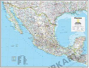 Mexico Map 73 x 91cm