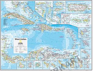 West Indies 91 x 73cm