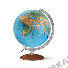 Illuminated Globe german 30cm