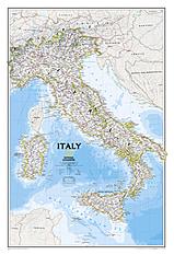 Italien Karte NGS