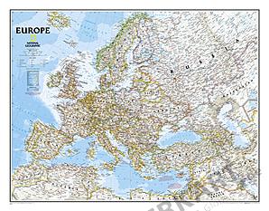 Politische Europa Karte