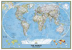 Politische Weltkarte (Großformat)