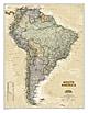 Südamerika Landkarte Executive from National Geographic
