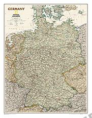 Deutschland Executive Karte