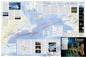 Titanic info kort