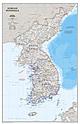 Korea Landkarte