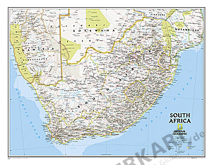 Sydafrika kort