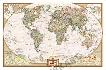 World Map executive, german