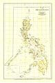 1905 Philippinen Karte 61 x 91cm