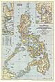 Philippinen Karte 44 x 66cm