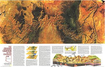 1978 Der Grand Canyon von Colorado