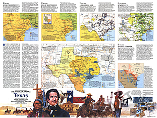 1986 Texas Map Side 2