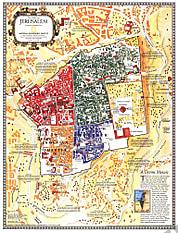1996 Jerusalem: Die Alte Stadt 39 x 51cm