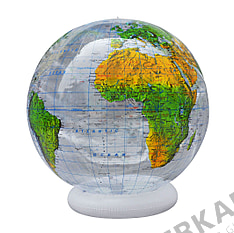 Physical inflatable Globe - 36 inch - english