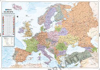 Køb nu online politisk Europa kort som en digital fil! - XYZ Maps