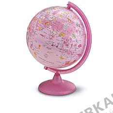 Illuminated globe for Girls