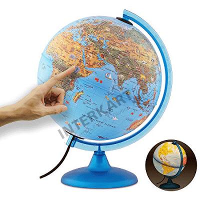 Komm mit auf eine Reise rund um die Welt: Unsere Kindergloben