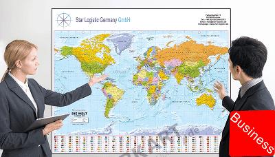 Landkarten – ein nützliches Werbegeschenk, das lange bleibt!