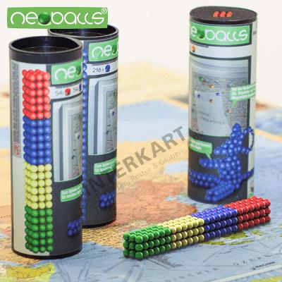 Rund und bunt: Unsere neuen Magnetkugeln Neoballs