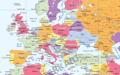 Ist die Welt für Sie anders bunt? – Weltkarte für Farbenblinde